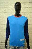 Maglia Uomo ADIDAS Taglia Size M Polo Camicia Manica 3/4 Shirt Man Herrenhemd