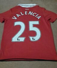 Manchester United Football Shirt for boys size 10-12 years Valencia nr 25 Nike