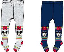 Disney~Strumpfhose~62/74~74/86~~Mickey Mouse~Micky Maus~grau~Baby~Junge~neu~Hose