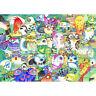 Wooden Jigsaw Puzzles 500 PCS Owl Cartoon Animals Decorative Painting Gift Decor