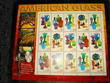 US SCOTT 3325 - 3328 PANE OF 15 AMERICAN GLASS 33 CENTS FACE MNH
