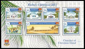 KIRIBATI 841a - Christmas 'Island Scenes' Souvenir Sheet (pa59970)