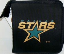 DALLAS STARS CD/DVD/GAME VIDEO STORAGE CARRYING CASE NHL ORGANIZER BAG NYLON