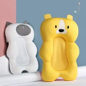 Portable Newborn Baby Bath Cushion Anti-Slip Seat Floating Shower Support Mat