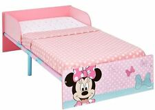 Disney Minnie Mouse Pink Wooden Kids Toddler Bed by HelloHome 18 Months to 5 Yrs