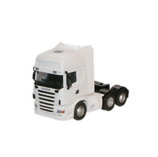 Oxford 76WHSCACAB Scania Topline Tractor Unit White 1:76 Scale Suit Code 3