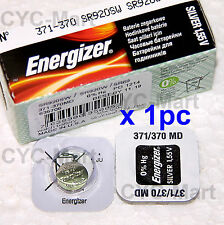 Energizer 371 SR920SW Silver Oxide Battery x 1 pc, Made in USA FREE POST WW
