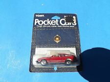1978 Tomy Tomica Red TOYOTA CELICA Mint On Fair Card 1/65 Scale no. 33