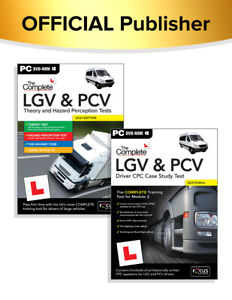 The Complete LGV & PCV Theory & Haz & Driver CPC Case Study Tests 2021 1a,1b,2
