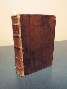 1613 Small size Octavo King James Bible -red ruled-London by Robert Barker-RARE
