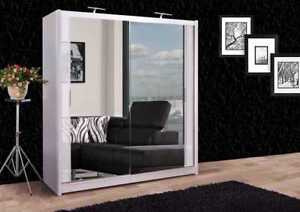 5 Door White Wardrobe For Sale Ebay