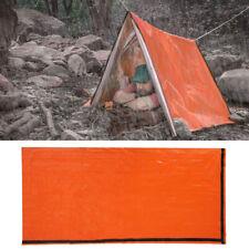 Schlafsack Zelt Outdoor Ausrüstung Sonnenschutz Wasserdichtes orangefarbenes PE