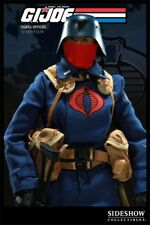 Sideshow Cobra Officer V1 GI Joe  Trooper Soldier Blue ARAH G1