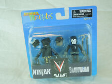 Valiant Minimates; Ninjak and Shadowman MIP