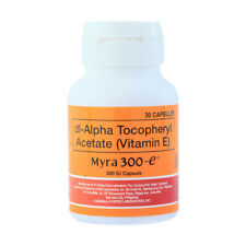 60 Capsules Myra-E 300 d-Alpha Tocopherol Vitamin E Blooming Fresh Effective