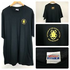 Revenge of the Mummy The Ride Employee Review 06/25/04 Ad Black T Shirt Xl