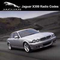 Jaguar Radio Code X300 Security Unlock Codes Sat Nav Decode - Fast Service