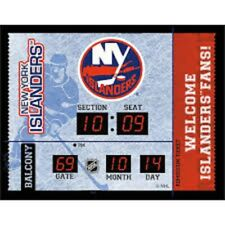 New York Islanders scoreboard LED clock bluetooth stereo speaker date 20x16