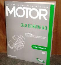 Motor Crash Estimating Guide - Chrysler - December 2004   VOL.37 NO.1