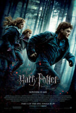 HARRY POTTER 7 DEATHLY HALLOWS PART 1 MOVIE POSTER 2 Sided ORIGINAL FINAL 27x40