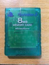 FREE SHIPPING SONY  PS2 PLAYSTATION 2 JAPAN MEMORY CARD 8MB