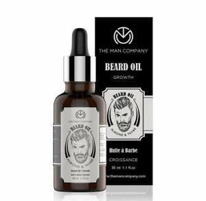 The Man Company Beard Growth Oil With Almond & Thyme For Beard Growth -30Ml | Ma