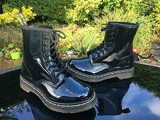 Dr. Martens 1460 black patent lamper 8 eyelet boots UK 3 EU 36 NEW RRP £129