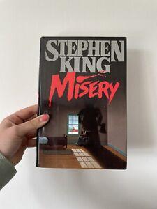 Misery - Stephen King / Hardback **True 1st US Edition Viking 1987!!**