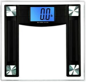 BalanceFrom Digital Body Weight Bathroom Scale with Step-On Technology 400lbs