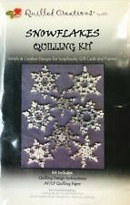 Quilled Creations Snowflakes Quilling Kit - New