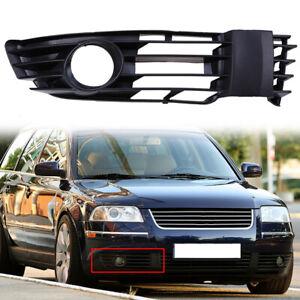 For VW Passat 2001-2005 Bumper Right Side Fog Light Lower Grille Trim Cover
