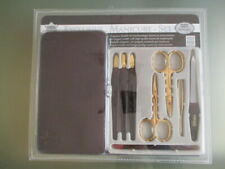 BNIW Exclusive Nail Manicure Set / Brown & Gold