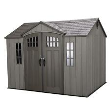 Outdoor Storage Shed 10' x 8' installation hardware Included by Lifetime