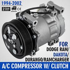 AC Compressor and Clutch 1010015 - 04849040AD fit Ram 1500 Dakota Durango Ram US