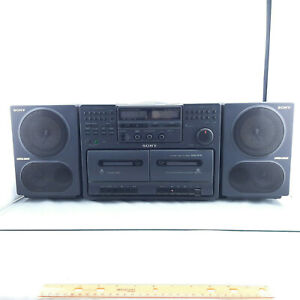 SONY Japan Made CFD-470 Mega Bass Stereo Boombox CD Player AM / FM Radio BOOMBOX