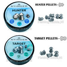 Stinger Target/Hunter Airgun Pellets .177 - .22 Air Rifle Ammo (500 & 250 packs)