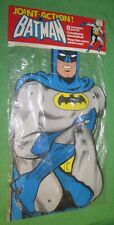 Vintage 1977 Joint Action BATMAN Wall Hanger *NEW OLD STOCK IN SEALED PACKAGE*