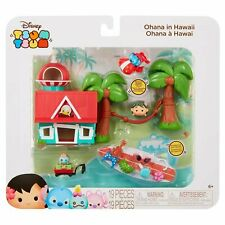 New, Disney, Tsum Tsum, Lilo and Stitch, Ohana in Hawaii Play-set