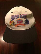 SUPER BOWL XXIX (Chargers Vs 49ers) White Adjustable Baseball Hat/Cap TL7