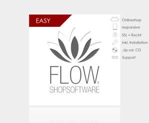 FLOW-Shopsoftware Easy - kinderleicht & modernes Design Shopsystem Webshop