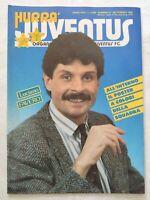 HURRA' JUVENTUS N. 9 SETTEMBRE 1986 + POSTER DELLA SQUADRA MICHEL PLATINI FAVERO