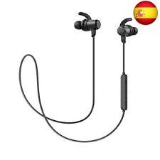 Auriculares Bluetooth 5.0 Inalámbricos Magnéticos SoundPEATS  (Negro oscuro)