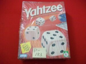 FACTORY SEALED 2005 YAHTZEE GAME- THE CLASSIC SHAKE, SCORE & SHOUT DICE GAME 8+