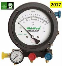NEW Mid-West Instrument 845-5 5 Valve Backflow Test Kit - Same as on MWI Website