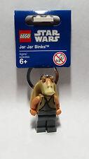 Brand New Lego - Jar Jar Binks Keyring - Star Wars - 853201