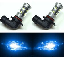 LED 50W 9006 HB4 Blue 10000K Two Bulbs Fog Light Show Color Lamp Replace OE