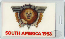VAN HALEN 1983 South America Laminated Backstage Pass