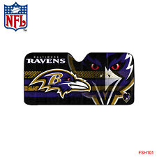 NFL Baltimore Ravens Car Truck Windshield Folding Auto Sun Shade Large Size
