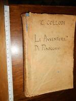 LIBRO:- PINOCCHIO  ill. Luigi e M- Augusta Cavalieri-Salani ed., Firenze, 1924
