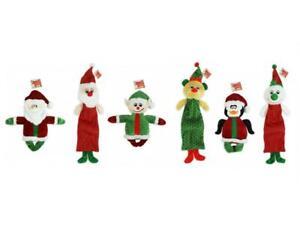 Christmas Plush Squeak Dog Toy Pack Of 2 Santa Elf Reindeer Snowman Penguin